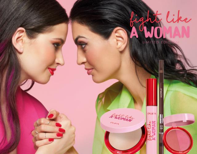 Pupa Milano fight like a woman is een seizoens make-up collectie met beperkte oplage